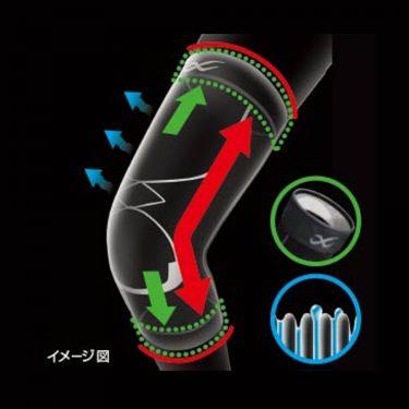 DAIICHI SANKYO Patex Knee Support - Medium Black Long Type