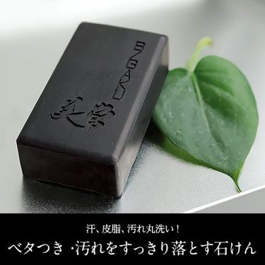 HABA Bigaku Charcoal Force Soap Bar