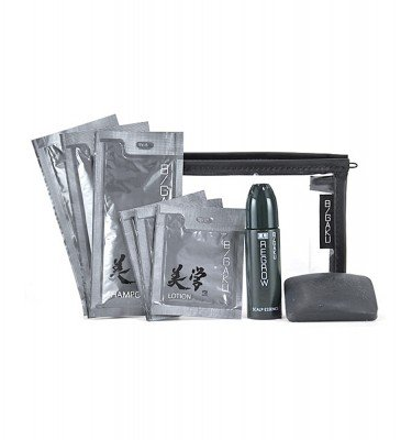 HABA Bigaku Trial Set - Soap, Shampoo, Lotion and Hair Regrowth