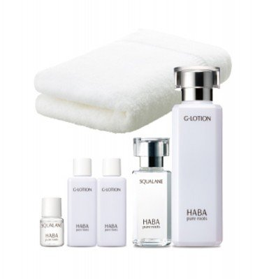HABA Bonus Set G-Lotion 180ml & Squalane 60ml