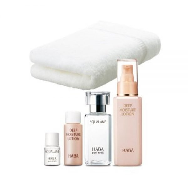 HABA DM Bonus Set DM Moisture Lotion 120ml & Squalane 60ml