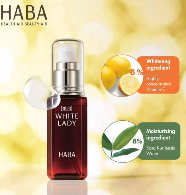 HABA Special Care White Lady Vitamin C Serum