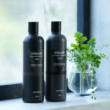 VITALISM Scalp Care Conditioner Non-Silicon for Men - 350ml