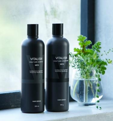 VITALISM Scalp Care Conditioner Non-Silicon for Men - 350ml