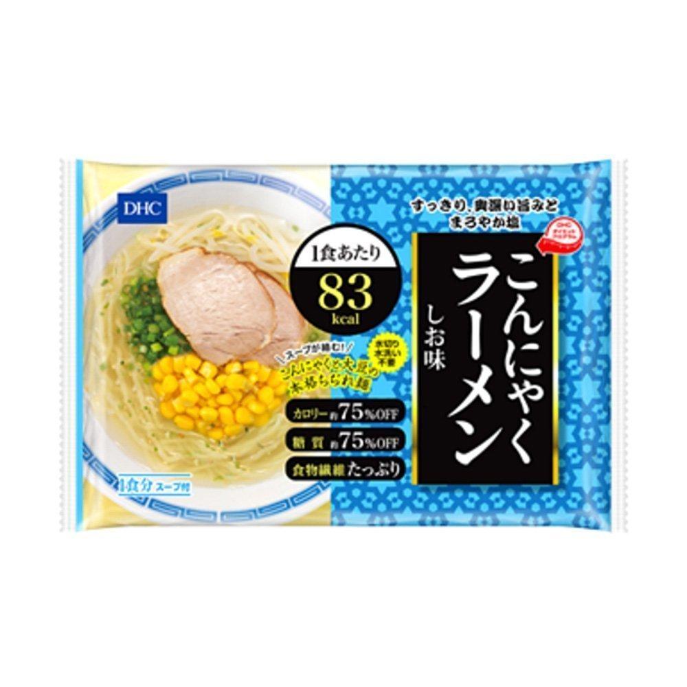 DHC Japanese Diet Konjac Ramen Noodles 83kcal - Shio Salt 140g x 6pcs