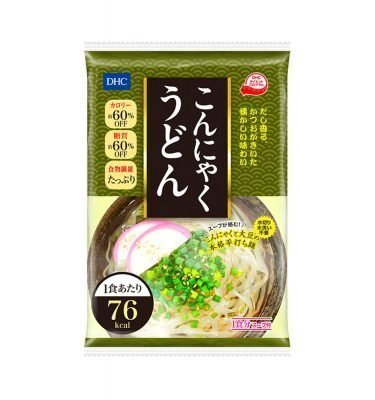 DHC Japanese Diet Konjac Udon Noodles 76kcal Made in Japan
