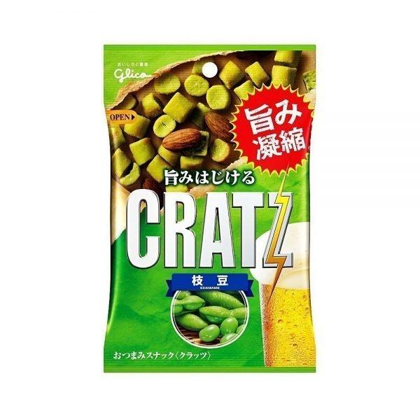 GLICO Cratz Edamame Beans - 42g x 10pcs