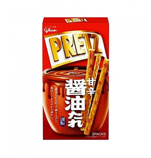 GLICO Pretz Shoyu Soy Sauce - 59g x 10pcs