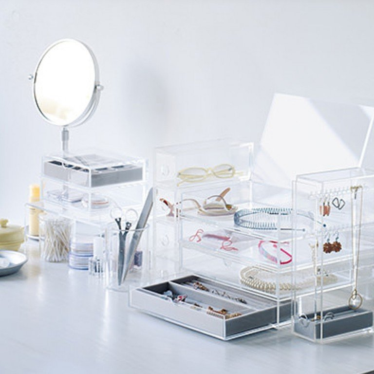 MUJI Acrylic Case 2 Drawers - Large