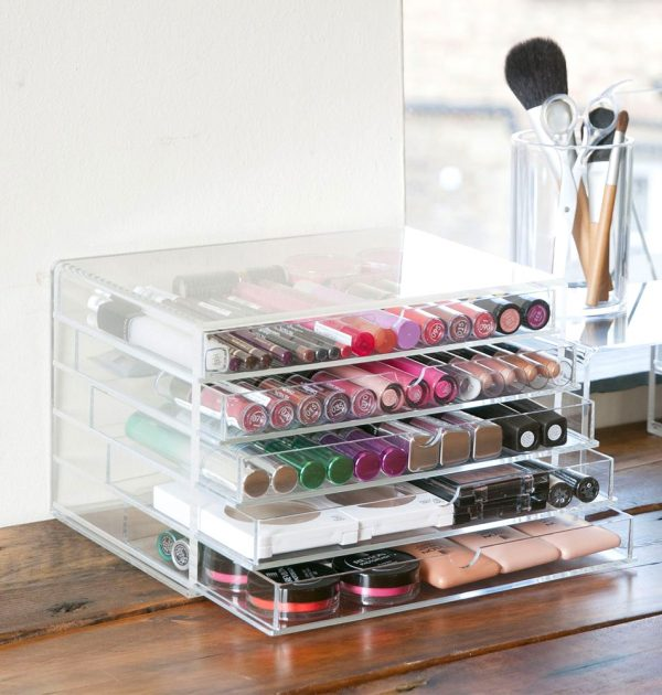 MUJI Acrylic Case 5 Drawers