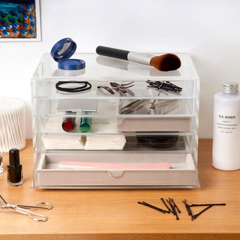 Muji Acrylic Case  Drawers