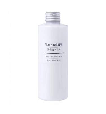 MUJI Moisturizing Milk for Sensitive Skin - High Moisture 200ml