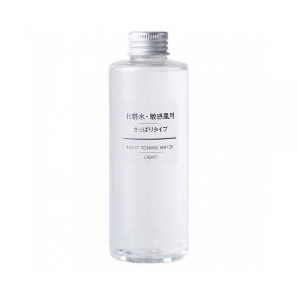 MUJI Light Toning Water Lotion for Sensitive Skin - Light 200ml