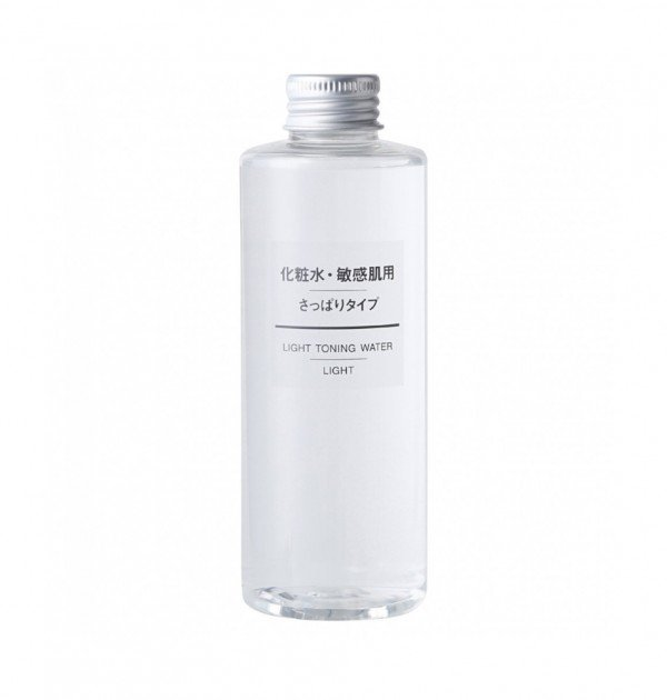 MUJI Light Toning Water Lotion for Sensitive Skin - Light 200ml