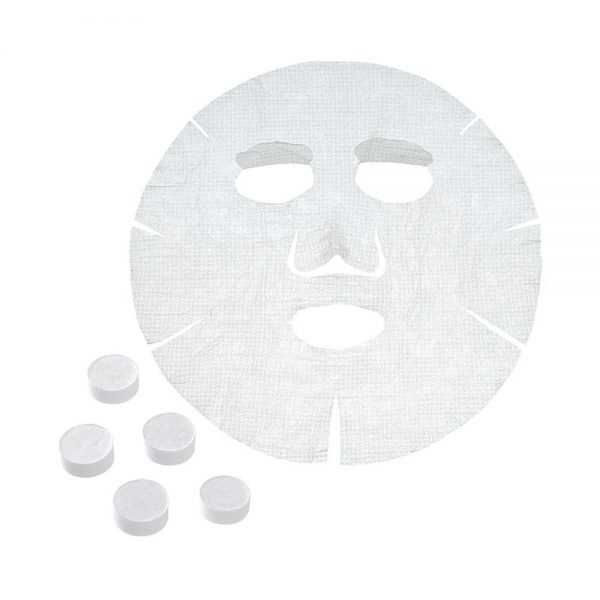 Muji Japan Face Lotion Sheet 20 Pieces Compressed Type