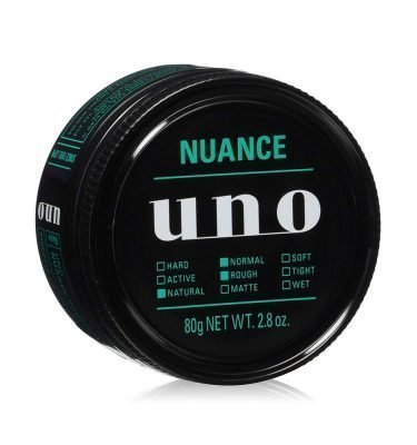 NEW SHISEIDO Uno Nuance Hair Wax Made in Japan
