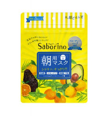 SABORINO Beauty Mask Mezamasheet 5 Sheets