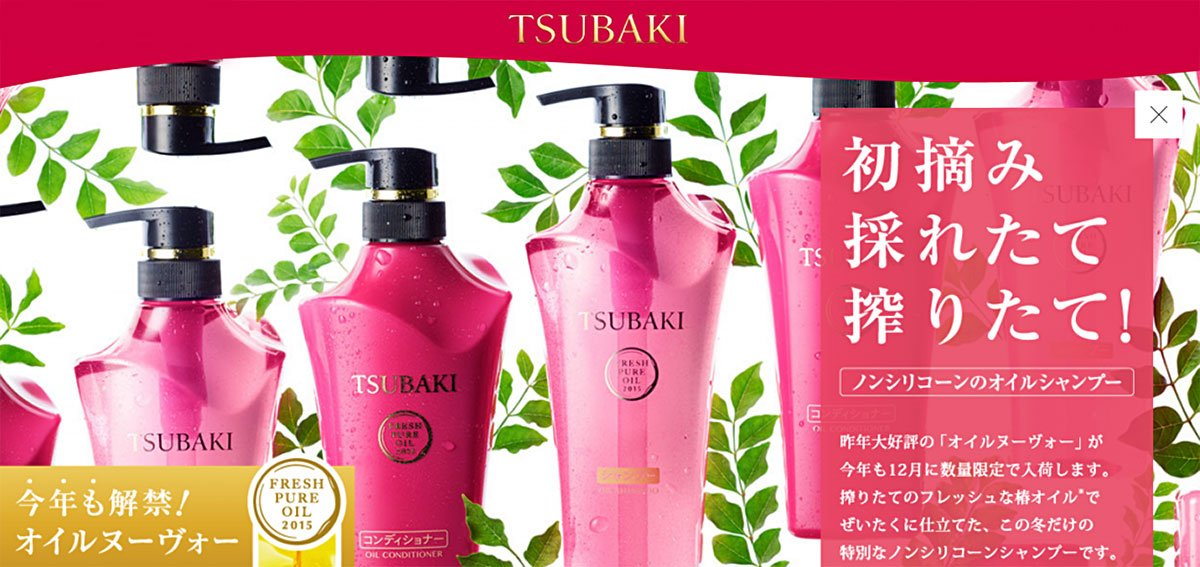 SHISEIDO Tsubaki Oil Shampoo and Conditioner Set - Limited Version 500ml