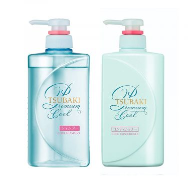 SHISEIDO Tsubaki Cool Shampoo and Conditioner Set - 2016
