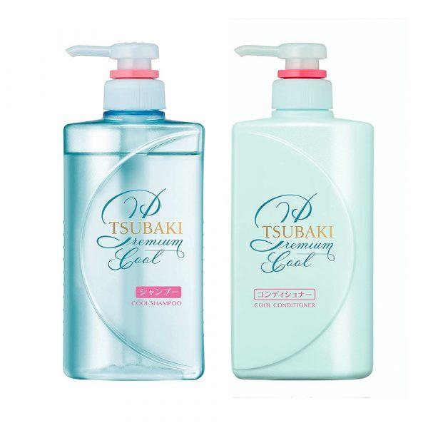 SHISEIDO Tsubaki Cool Shampoo and Conditioner Set - 2016