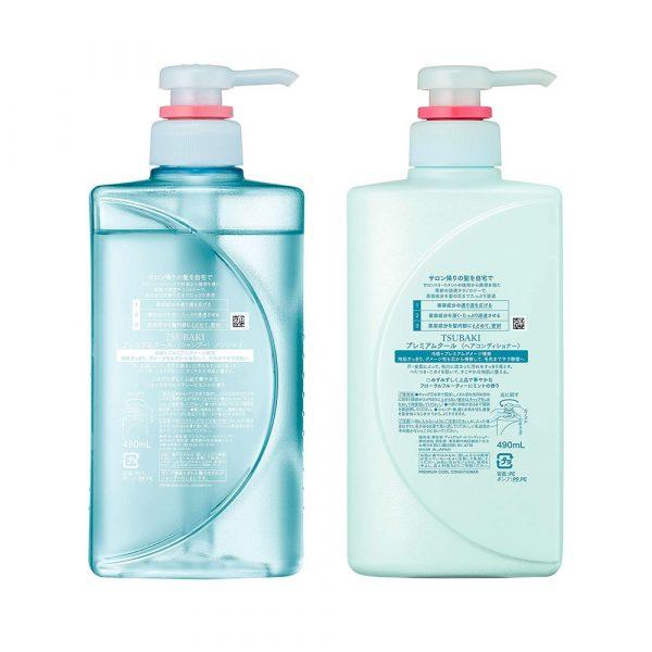 SHISEIDO Tsubaki Cool Shampoo and Conditioner Set