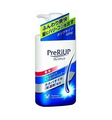 TAISHO SEIYAKU PreRiUp Hair Conditioner for Men with Jojoba Oil - 400ml