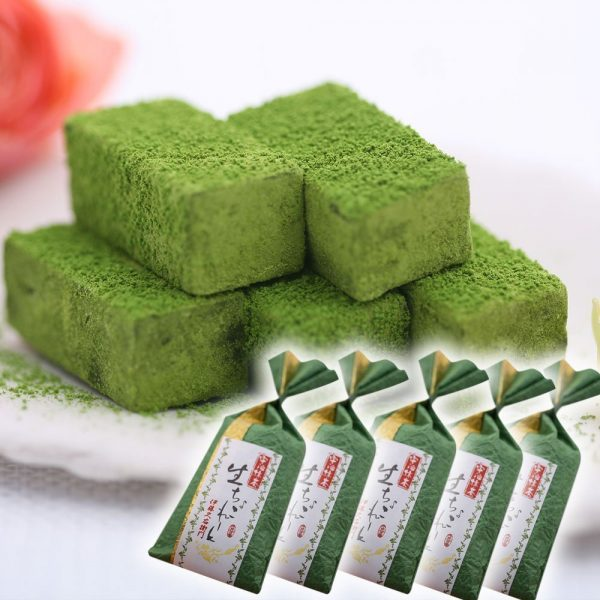 ITOHKYUEMON Kyoto Uji Matcha Chocolate - 5 pcs x 5 Bags