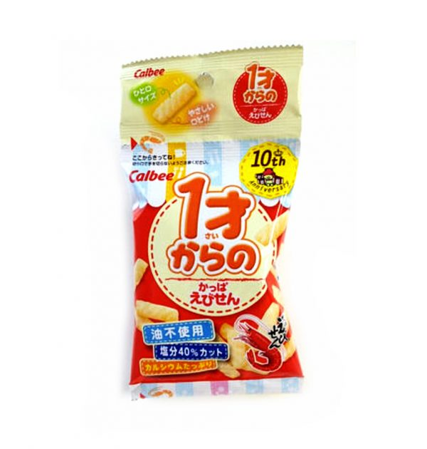 CALBEE Kappa Ebisen Shrimp Crackers 1 Year Old