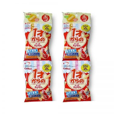 CALBEE Kappa Ebisen Shrimp Crackers 1 Year Old - 32g x 5pcs
