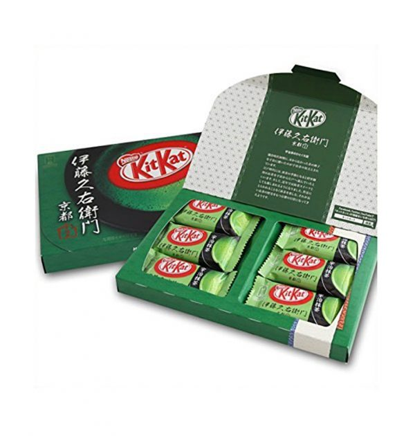 ITOHKYUEMON Kyoto Uji Matcha Kit Kat - 12pcs