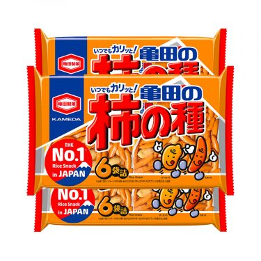 KAMEDA Kaki No Tane Rice Crackers & Peanuts Made in Japan