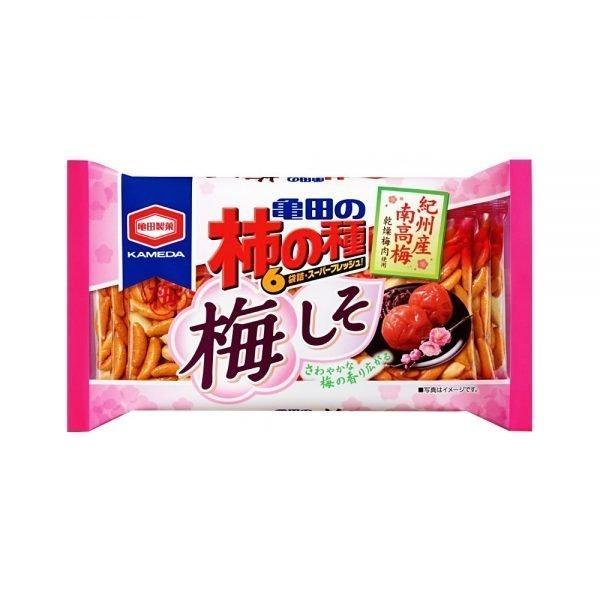 KAMEDA Ume Shiso Rice Crackers - 180g