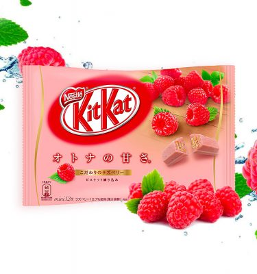 KIT KAT Mini Raspberry Made in Japan