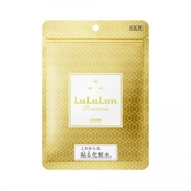 LULULUN Face Mask Precious WS WHITE - Anti-Aging with Plant Extract 32 Sheets4