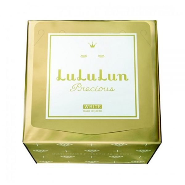 LULULUN Face Mask Precious WS WHITE - Anti-Aging with Plant Extract 32 Sheets