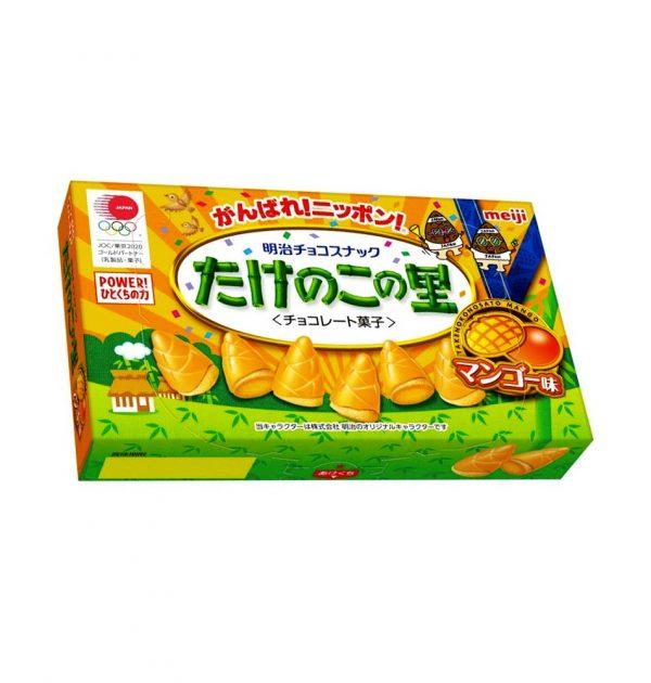 MEIJI Takenoko No Sato - Mango Flavour