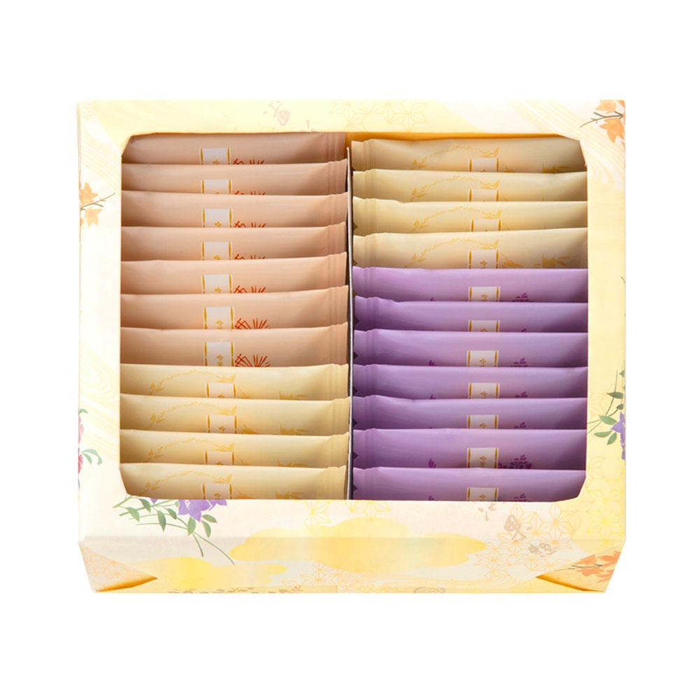 MINAMOTO KICHOAN Fukura Premium Rice Crackers - 4 Flavour 18 pcs