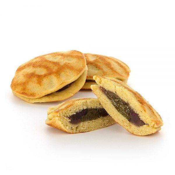 MUJI Mini Dorayaki Pancake Sandwich – Matcha, Red Bean & Mochi