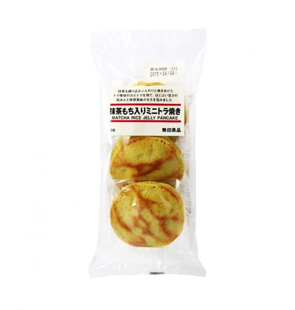 MUJI Mini Dorayaki Pancake Sandwich - Matcha!