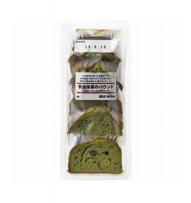 MUJI Rich Matcha Pound Cake - 5 Slices