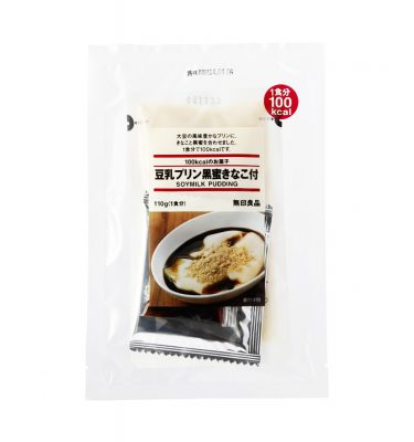 MUJI Tonyu Pudding with Black Honey & Roasted Soybean Flour - 110g