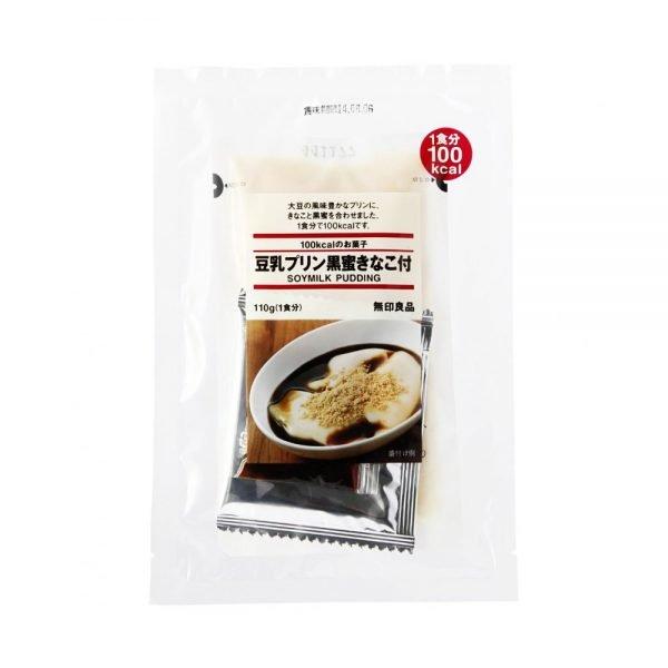 MUJI Tonyu Pudding with Black Honey & Roasted Soybean Flour - 110g