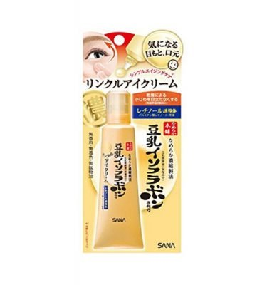 NAMERAKA HONPO Tonyu Isoflavone Wrinkle Eye Cream - 25g