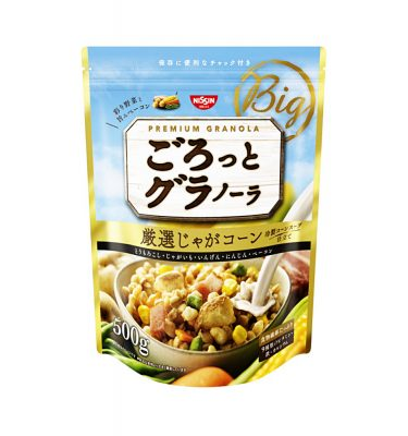NISSIN Gorotto Granola Potato Corn - 500g