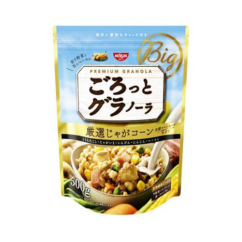 NISSIN Gorotto Granola Potato Corn - 500g