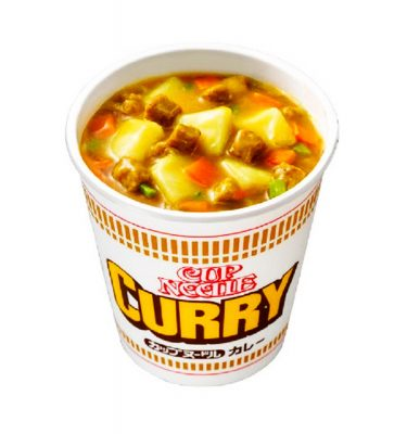 NISSIN Curry Cup Noodle