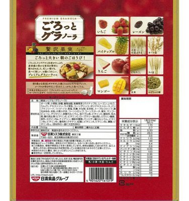 Nissin Gorotto Granola Dried Fruit - 500g