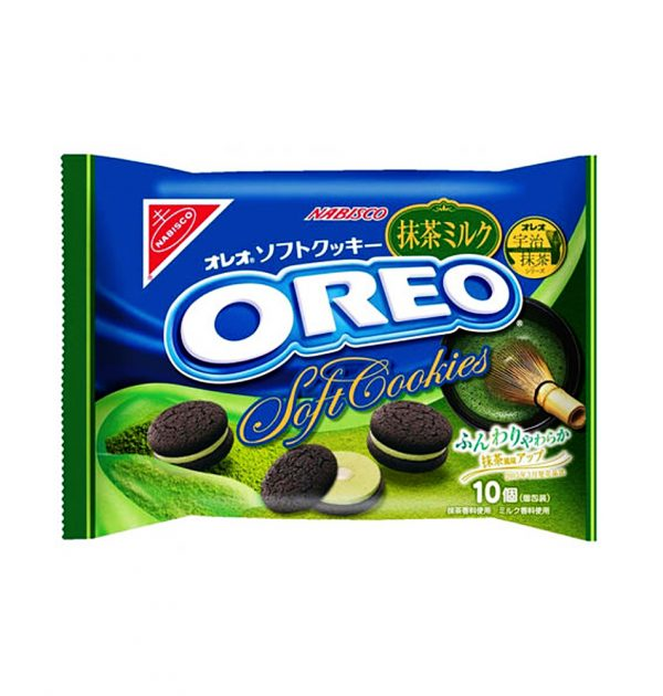 OREO Nabisco Japan Matcha Green Tea Milk Cookies - 10pcs 1 bag