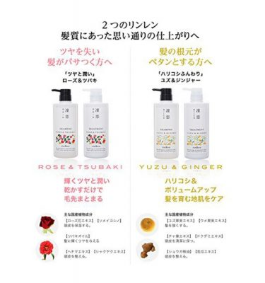 RINREN Shampoo Remedial Yuzu and Ginger - 520ml