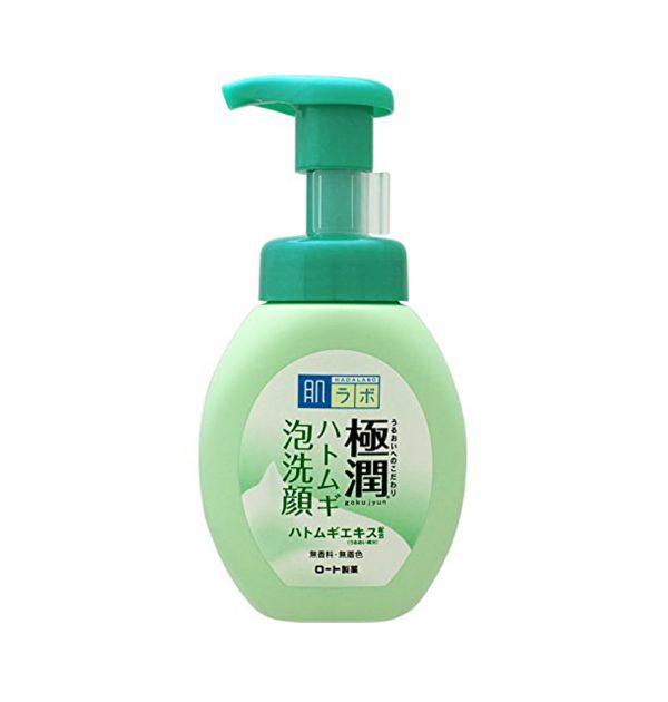 ROHTO Hada Labo Gokujun Hyaluronic Cleansing Foam - Pearl Barley 160ml